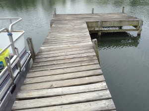 Failing Dock Platform