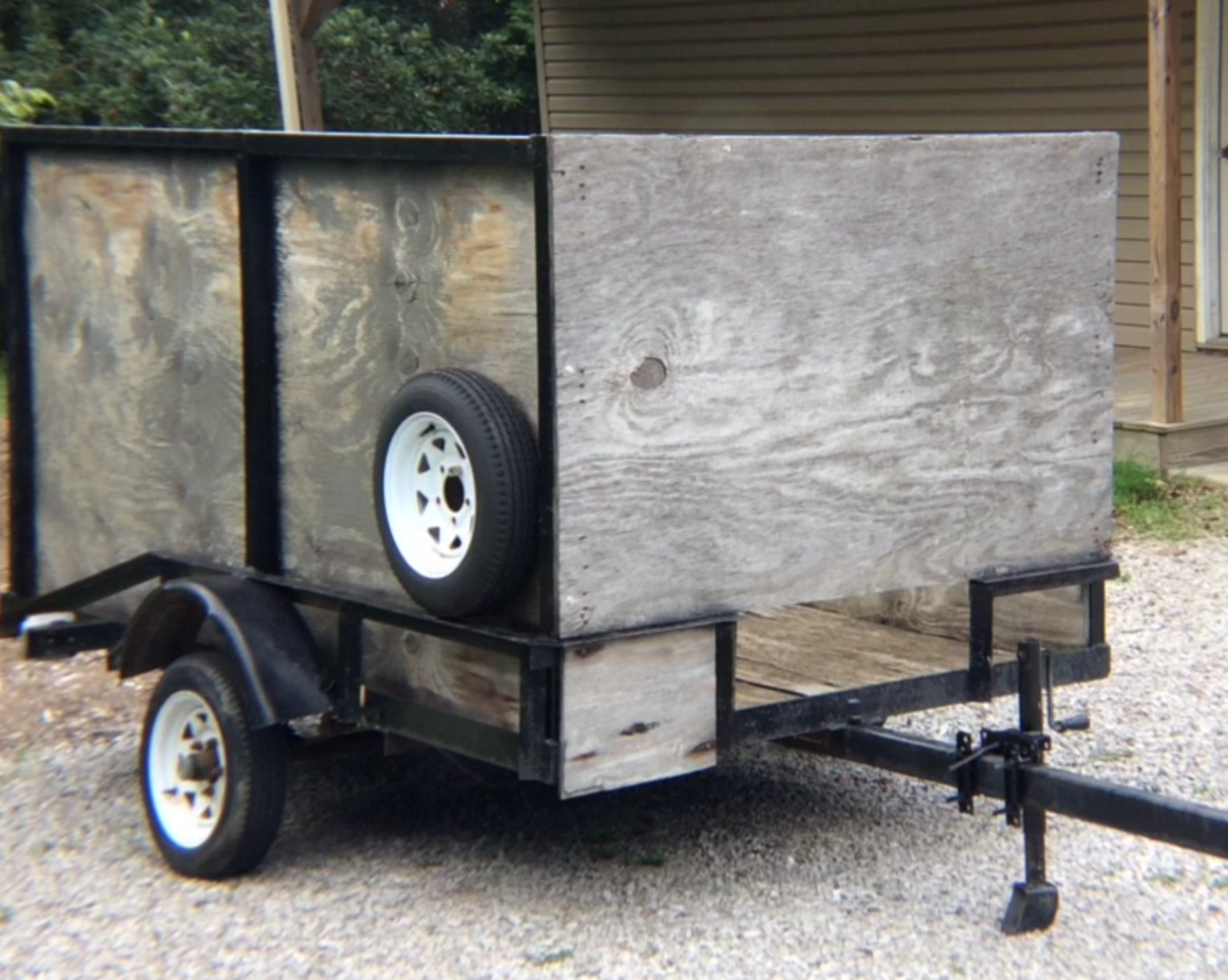 Ck By The Thought Of Having A Home Made Utility Trailer For Hauling And Storing Our Camping Gear