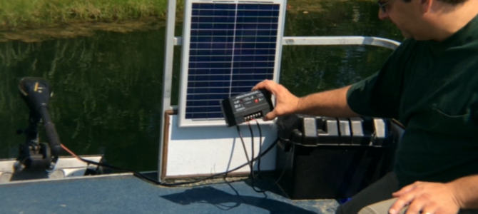 The Solar Powered Pontoon